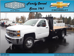 2017 Silverado 3500 Regular Cab 4x4, Knapheide Platform Body #T170364 - photo 1