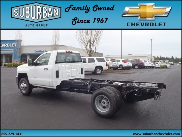 2017 Silverado 3500 Regular Cab 4x4, Cab Chassis #T170432 - photo 2