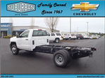 2017 Silverado 3500 Regular Cab 4x4, Cab Chassis #T170432 - photo 1