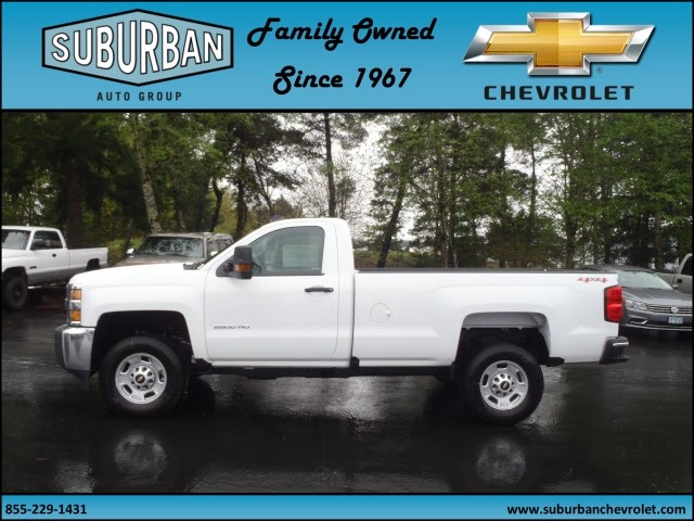 2017 Silverado 2500 Regular Cab 4x4, Pickup #T170452 - photo 3