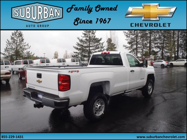 2017 Silverado 2500 Regular Cab 4x4, Pickup #T170452 - photo 4