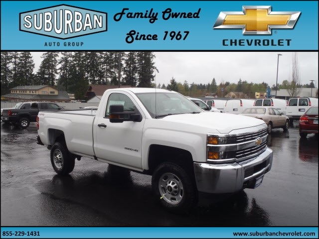 2017 Silverado 2500 Regular Cab 4x4, Pickup #T170452 - photo 6