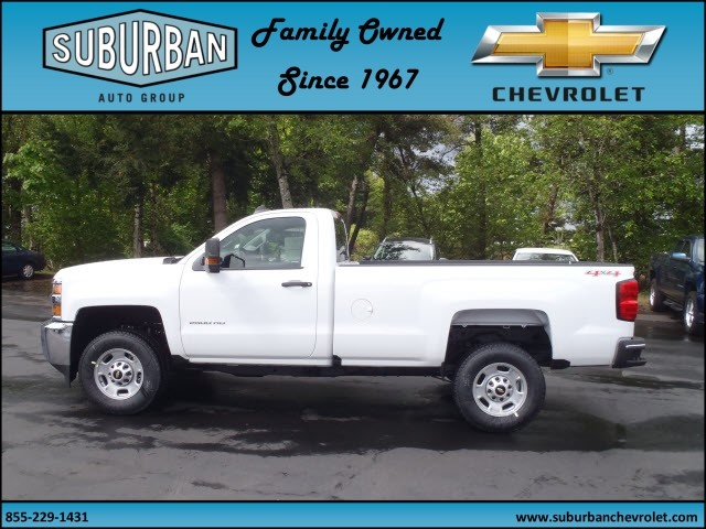 2017 Silverado 2500 Regular Cab 4x4, Pickup #T170495 - photo 3