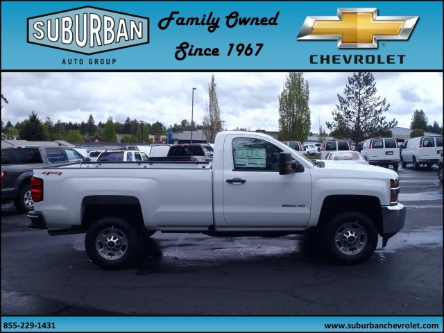2017 Silverado 2500 Regular Cab 4x4, Pickup #T170495 - photo 5