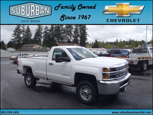 2017 Silverado 2500 Regular Cab 4x4, Pickup #T170495 - photo 6