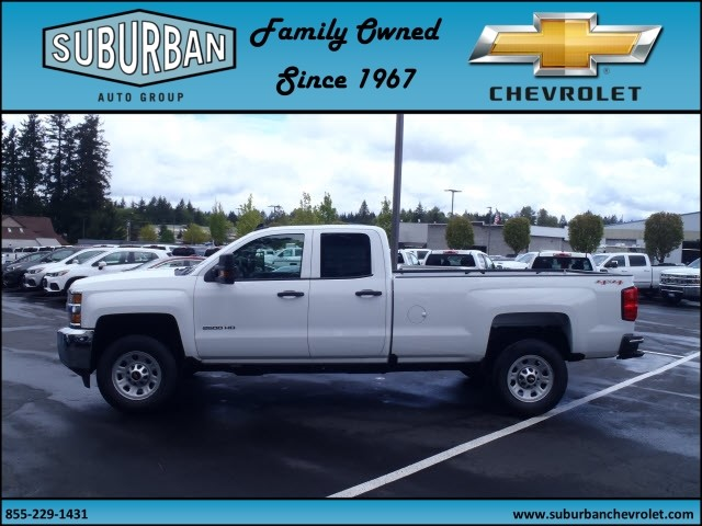 2017 Silverado 2500 Double Cab 4x4, Pickup #T170498 - photo 3