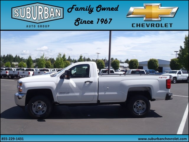 2017 Silverado 2500 Regular Cab 4x4, Pickup #T170513 - photo 3