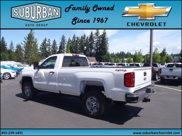 2017 Silverado 2500 Regular Cab 4x4, Pickup #T170513 - photo 2