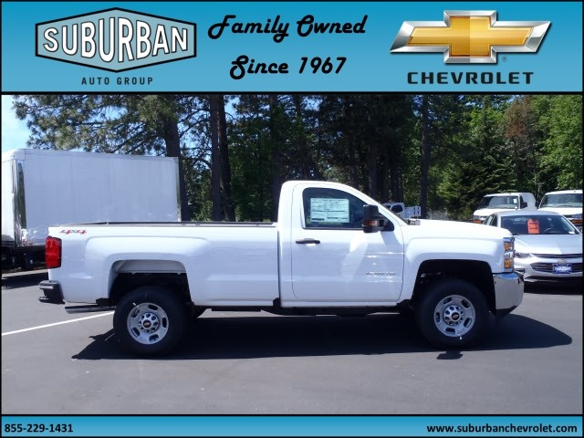 2017 Silverado 2500 Regular Cab 4x4, Pickup #T170513 - photo 5