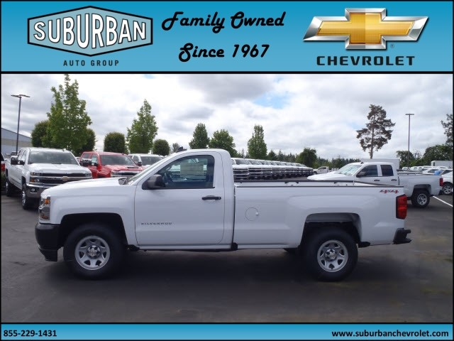 2017 Silverado 1500 Regular Cab 4x4, Pickup #T170576 - photo 3
