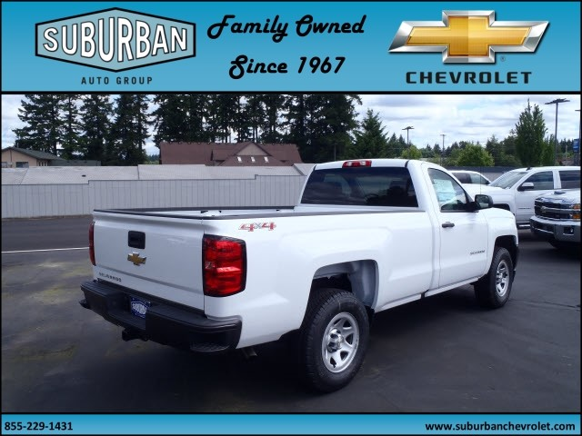 2017 Silverado 1500 Regular Cab 4x4, Pickup #T170576 - photo 4