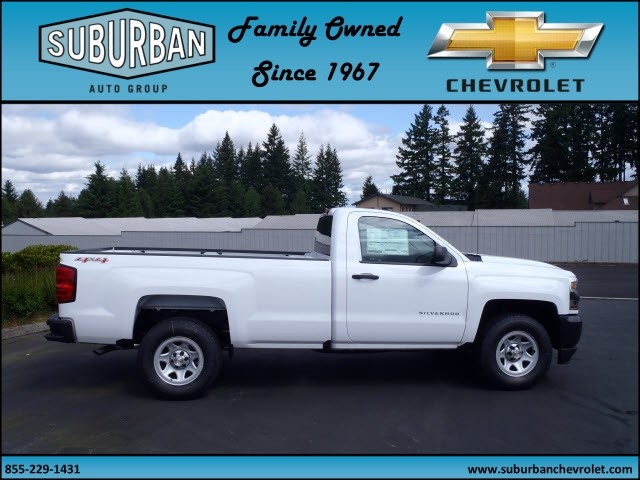 2017 Silverado 1500 Regular Cab 4x4, Pickup #T170576 - photo 5