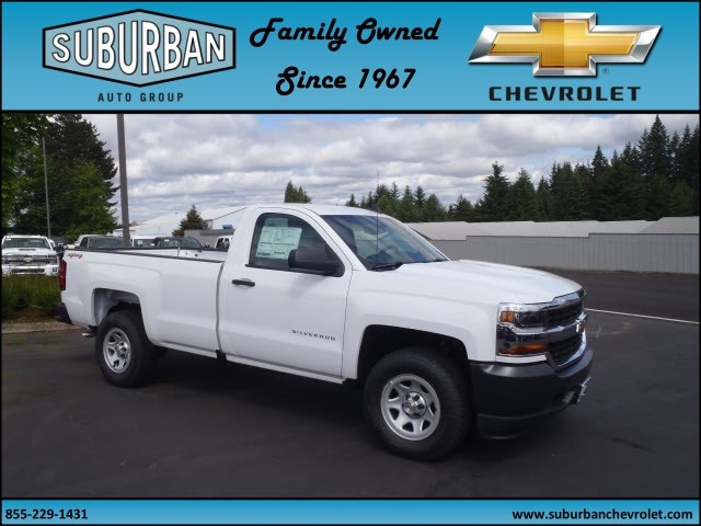 2017 Silverado 1500 Regular Cab 4x4, Pickup #T170576 - photo 6