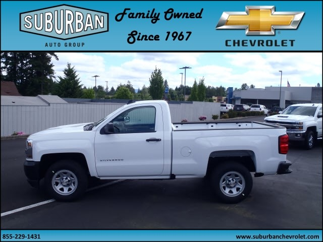 2017 Silverado 1500 Regular Cab, Pickup #T170577 - photo 3