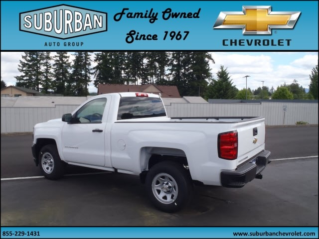 2017 Silverado 1500 Regular Cab, Pickup #T170577 - photo 2