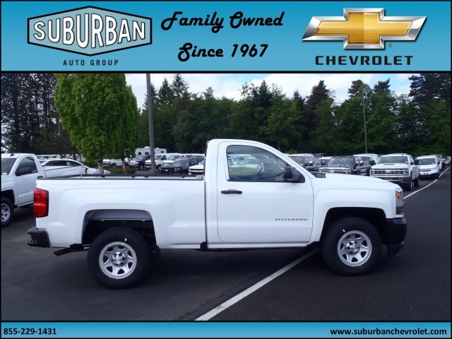 2017 Silverado 1500 Regular Cab, Pickup #T170577 - photo 5