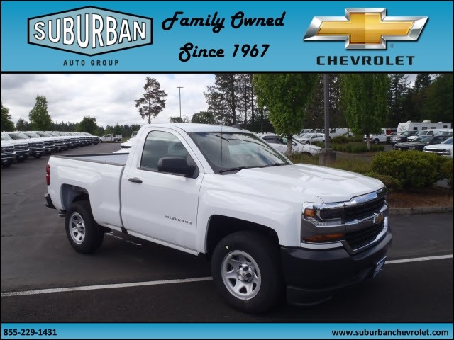 2017 Silverado 1500 Regular Cab, Pickup #T170577 - photo 6