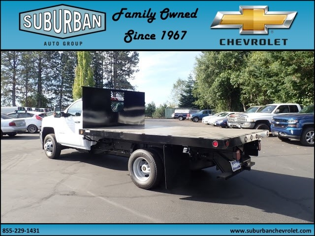 2017 Silverado 3500 Regular Cab DRW, Reading Platform Body #T170586 - photo 2