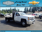 2017 Silverado 3500 Regular Cab DRW, Reading Platform Body #T170586 - photo 6