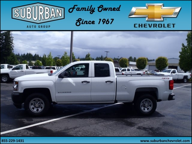 2017 Silverado 1500 Double Cab 4x4, Pickup #T170587 - photo 3