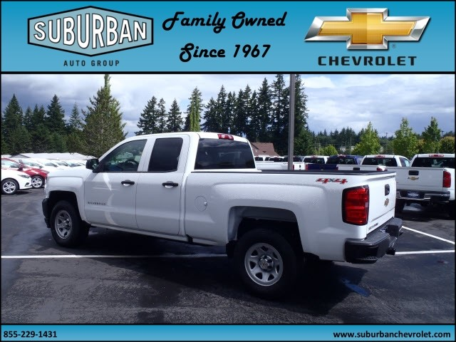 2017 Silverado 1500 Double Cab 4x4, Pickup #T170587 - photo 2