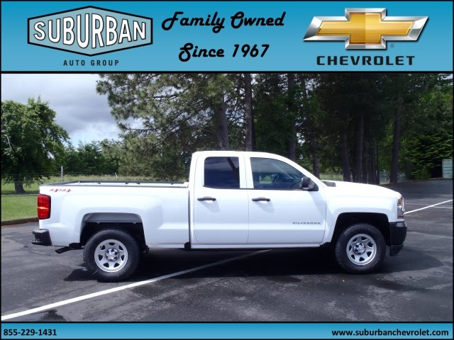 2017 Silverado 1500 Double Cab 4x4, Pickup #T170587 - photo 5