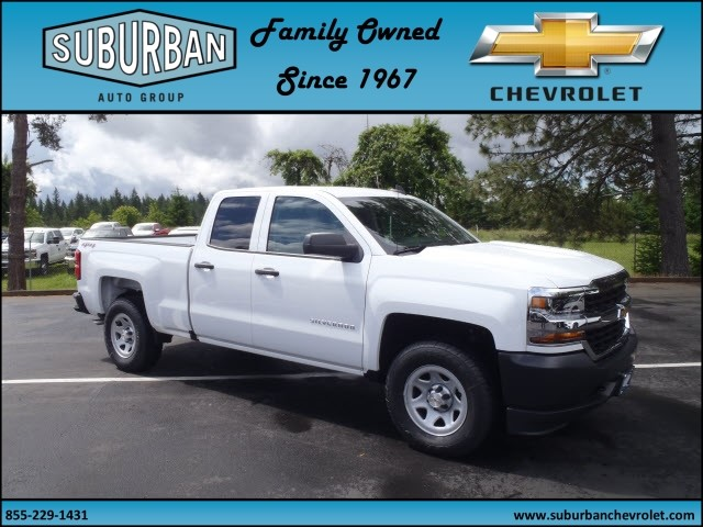 2017 Silverado 1500 Double Cab 4x4, Pickup #T170587 - photo 6