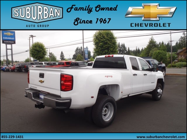 2017 Silverado 3500 Double Cab 4x4, Pickup #T170598 - photo 4