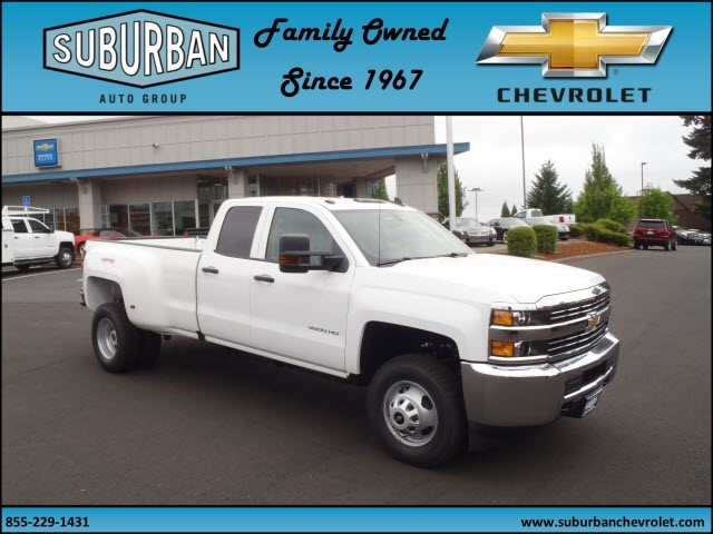 2017 Silverado 3500 Double Cab 4x4, Pickup #T170598 - photo 6