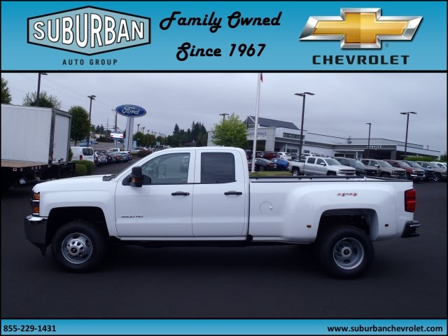 2017 Silverado 3500 Double Cab 4x4, Pickup #T170598 - photo 3