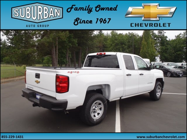 2017 Silverado 1500 Double Cab 4x4, Pickup #T170599 - photo 4