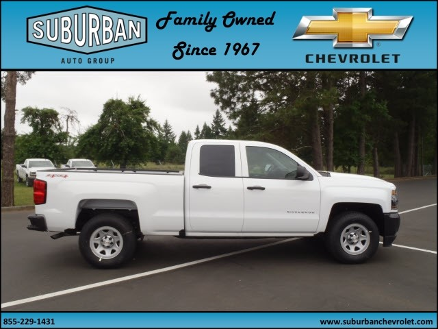 2017 Silverado 1500 Double Cab 4x4, Pickup #T170599 - photo 5