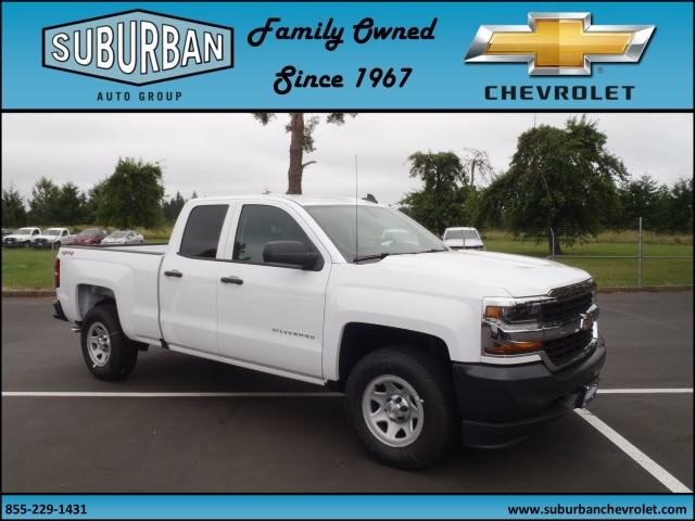 2017 Silverado 1500 Double Cab 4x4, Pickup #T170599 - photo 6