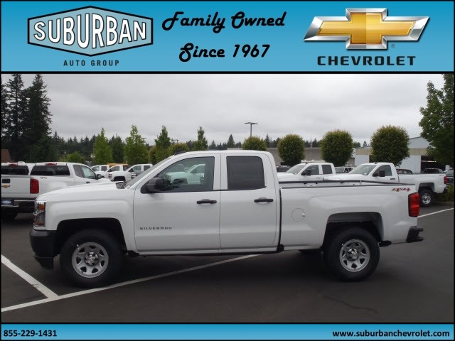 2017 Silverado 1500 Double Cab 4x4, Pickup #T170599 - photo 3