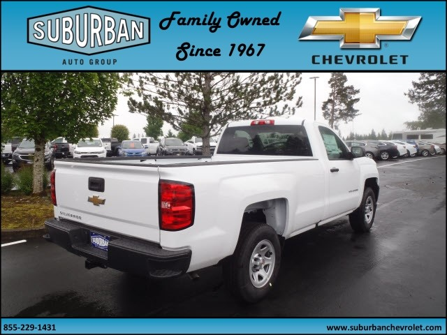 2017 Silverado 1500 Regular Cab, Pickup #T170634 - photo 4