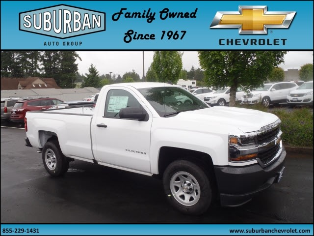 2017 Silverado 1500 Regular Cab, Pickup #T170634 - photo 5