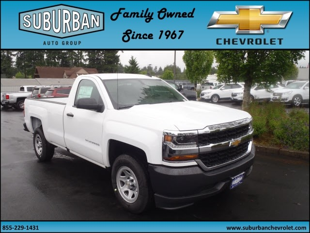 2017 Silverado 1500 Regular Cab, Pickup #T170634 - photo 6