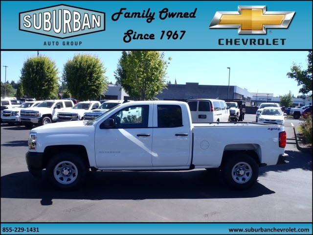 2017 Silverado 1500 Double Cab 4x4, Pickup #T170654 - photo 3