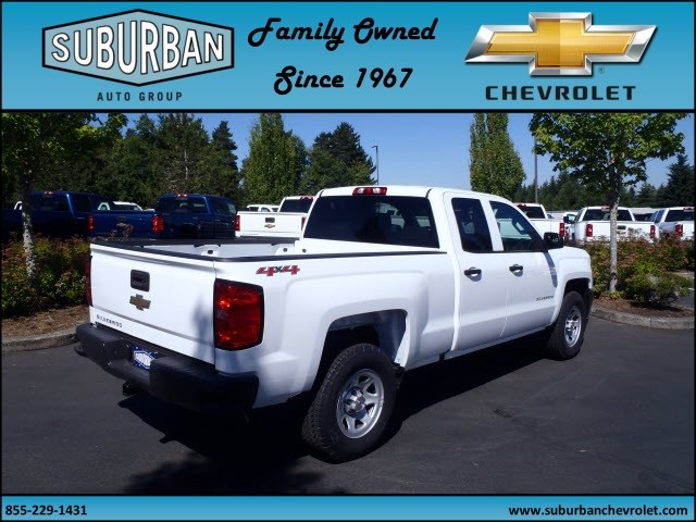 2017 Silverado 1500 Double Cab 4x4, Pickup #T170654 - photo 4