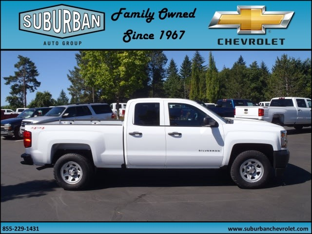 2017 Silverado 1500 Double Cab 4x4, Pickup #T170654 - photo 5