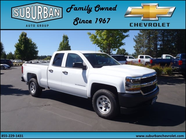 2017 Silverado 1500 Double Cab 4x4, Pickup #T170654 - photo 6