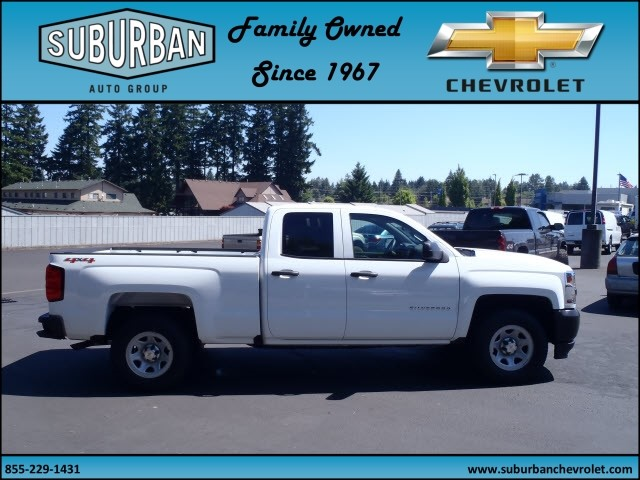 2017 Silverado 1500 Double Cab 4x4, Pickup #T170661 - photo 5