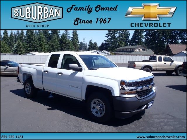 2017 Silverado 1500 Double Cab 4x4, Pickup #T170661 - photo 6