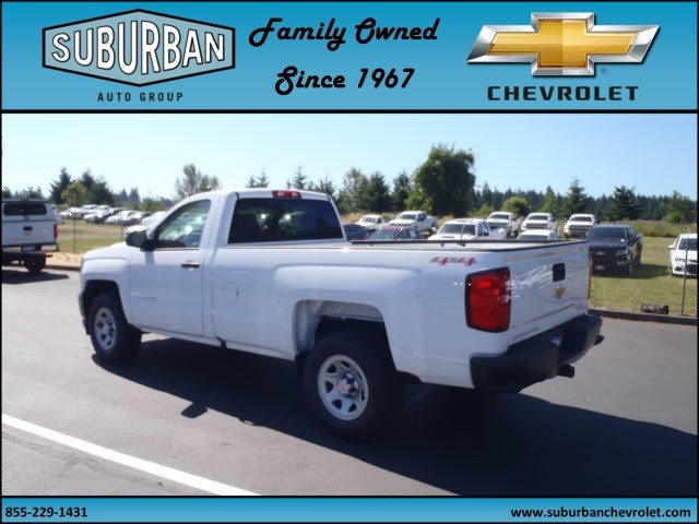 2017 Silverado 1500 Regular Cab 4x4 Pickup #T170688 - photo 2
