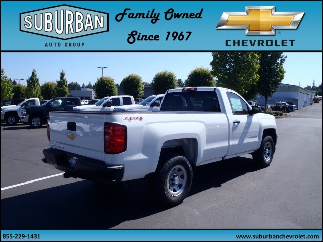2017 Silverado 1500 Regular Cab 4x4 Pickup #T170688 - photo 4