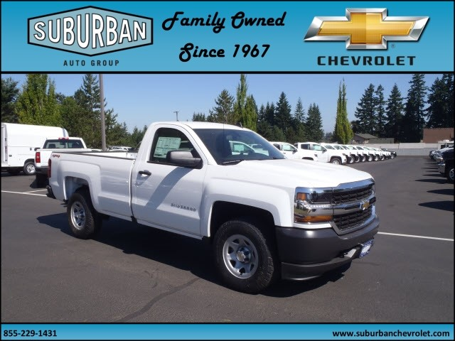 2017 Silverado 1500 Regular Cab 4x4 Pickup #T170688 - photo 6