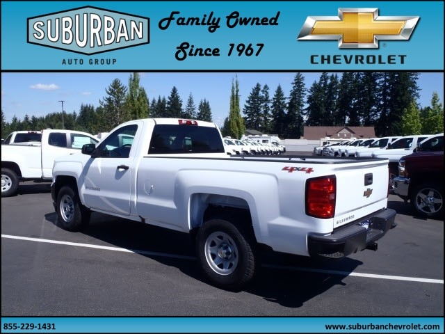 2017 Silverado 1500 Regular Cab 4x4 Pickup #T170689 - photo 2