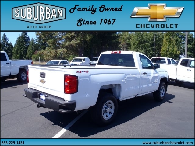 2017 Silverado 1500 Regular Cab 4x4 Pickup #T170689 - photo 4