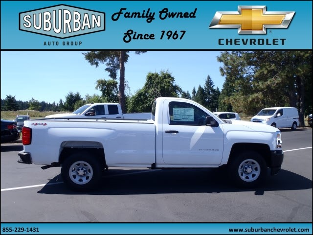 2017 Silverado 1500 Regular Cab 4x4 Pickup #T170689 - photo 5