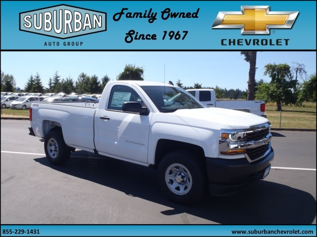 2017 Silverado 1500 Regular Cab 4x4 Pickup #T170689 - photo 6